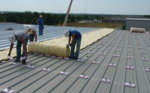 retrofit of a metal roof