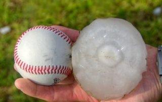 large hailstone